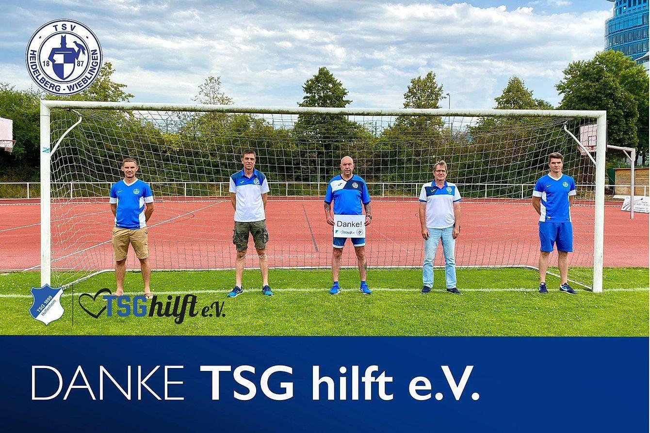 TSV Wieblingen Fussball sagt DANKE TSGhilft
