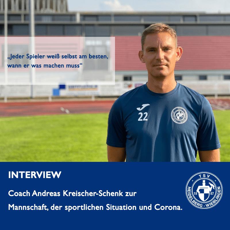Coach Andreas Kreischer-Schenck