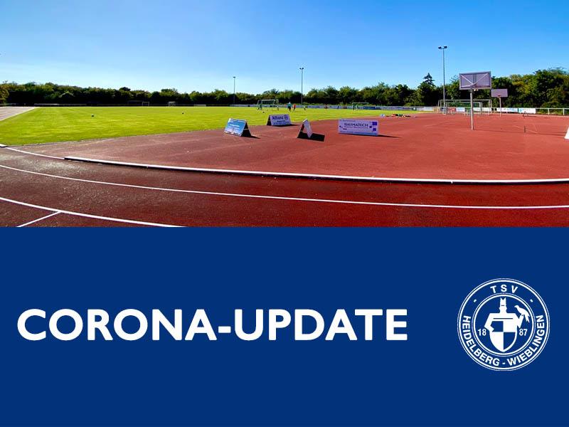 Corona Update Februar TSV Wieblingen Fußball